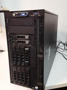 Serveur Dell PowerEdge 2900 - 2x Xeon E5405 2Ghz - 48 Go ram - 2x 1To HDD SAS
