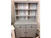 Beautiful Vintage Dresser with Anchor Handles, very shabby chic beachy.