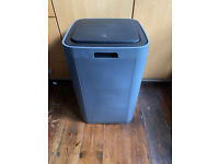 Large Ikea Grey 60 litre push top bin solid and sturdy RRP £25