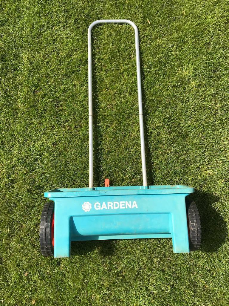 Gardena Lawn Feed/Sand/Weed-kill Spreader | in Poole, Dorset | Gumtree