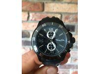 Thomas Sabo Black Leather Rebel at Heart Watch