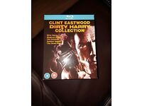 CLINT EASTWOOD DIRTY HARRY BLU RAY COLLECTION