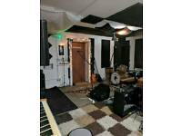 Band rehearsal/practice space in Stockport