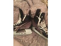 Reebok ice hockey skates used twice size 42 (8uk)
