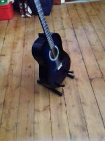 Martin Smith blue acoustic guitar great condition