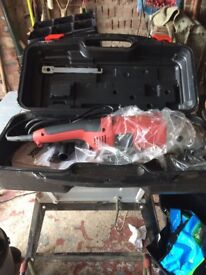 "For Sale new 9"" Angle Grinder unwanted gift in a plastic case"