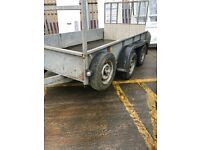 10x5'6 trailer Ifor Williams with ramp