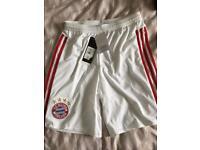 Boys/Girls Bayern Munich Shorts Age 10 to13 .New.