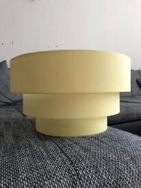 Yellow 3 Tier Lampshade