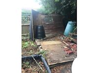 Dismantled shed - free!