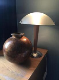 Lamp and vase