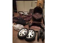 ***Bargain, need gone today*** Quinny Buzz 3 pushchair, carrycot and extras, vgc