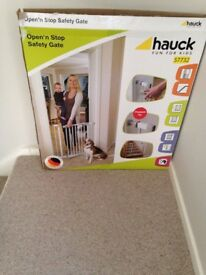 BRAND NEW - Baby Gate & Used Baby Bath Seat