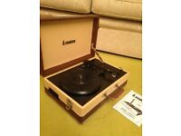 Steepletone Retro Turntable with Radio