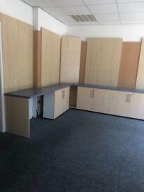 Shop display storage cabinets units