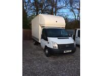 Ford transit Luton 125 350 with tail lift