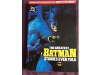Batman collectible book