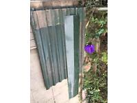 Box profile roofing sheets and ridge cap