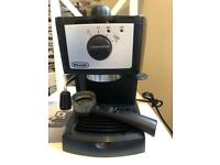 DeLonghi coffee machine Model EC152.CD with milk jug and thermometer