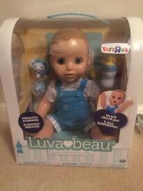 LUVABEAU! The boy Luvabella doll! Brand new!