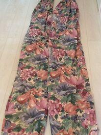 Pair of Full length Curtains