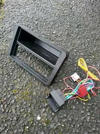 Vw touran stereo facia kit