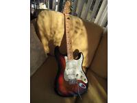 2003 Custom Shop Classic Stratocaster 3 Tone Sunburst. Fitted Kinman AVN Noiseless Pickups.