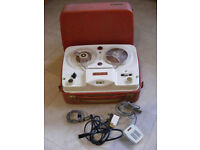Vintage late 1950's/early 1960's Ferguson 441-TR Reel to Reel Tape Recorder/Player - It Works!