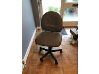 Free ... office style desk chair