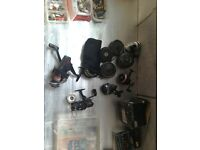 Fishing reels Abu. Closed face fly reels open face all top cond bargains for every one by by by my