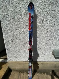 Volkl SuperSport 5 star 168cm skis with Marker Motion iPT bindings
