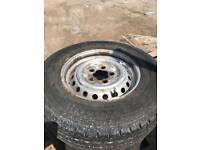 Vw t25 spare wheel