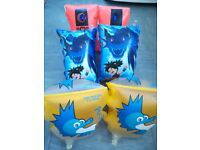 Children's swimming armbands £2.00 each- different ages