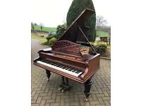Bechstein 6.6 Grand Piano Rosewood case