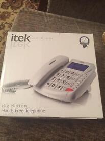 Hard of hearing phone. £30