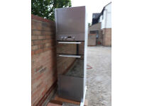 Built in Double Oven & silver cabinet £50.00p