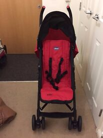 Chicco echo stroller red