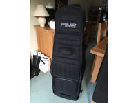 PING COLLAPSABLE TRAVEL FLIGHT GOLF CASE/BAG IMMACULATE CONDITION