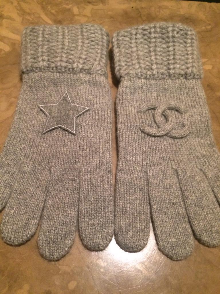 Chanel Cashmere Gloves