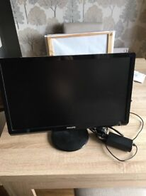 """Philips 22"""" monitor"""