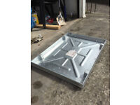 Recessed Drain cover 600 x 450 x 43.5mm. Clark Drain. Fully Galvanised