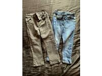 Boys 18-24 months jeans and joggers bundle