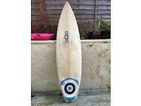 DHD surfboard shortboard 5'11