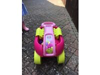 Mega bloks and pulling cart outdoor toy