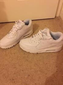 Nike air max 90 white size 6