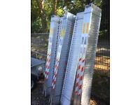 Aluminium loading ramps 8ft 3.3 ton Ifor Williams nugent trailer parts