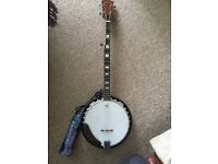 Banjo for sale only used on a handful of occasions