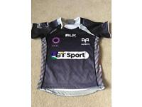 Children's ospreys rugby top age 4