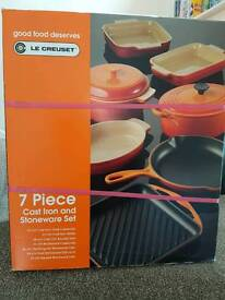 7 piece or creuset