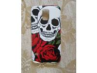Samsung galaxy s5 phone case cover brand new skulls and roses design
